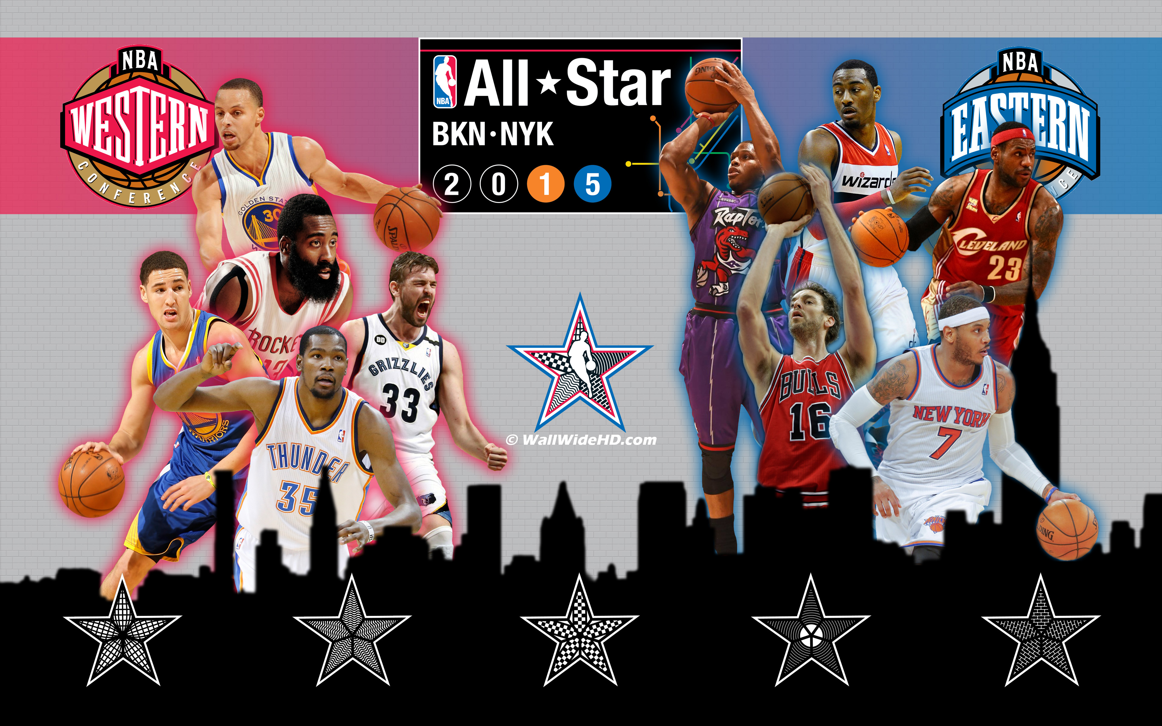 2015-NBA-All-Stars-Rosters-Western-vs-Eastern-Conference-Wallpaper